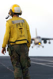 Sailor and Aircraft Stock Images