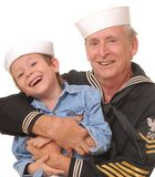 Sailor And Son 7 Royalty Free Stock Photos
