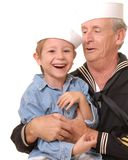Sailor And Son 7 Royalty Free Stock Photography
