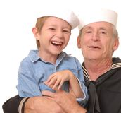 Sailor And Son 8 Stock Image