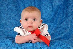 Sailor Baby Royalty Free Stock Image