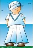 Sailor boy Stock Photo
