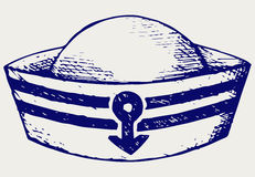 Sailor cap Royalty Free Stock Images