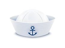 Sailor cap Royalty Free Stock Photo