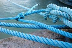 Sailor& x27; cuerda de s Imagen de archivo libre de regalías