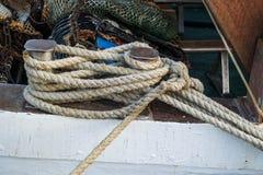 Sailor& x27; cuerda de s Foto de archivo