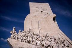 Sailor and explorer memorial in Lisbon, Portugal Stock Photos