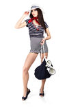 Sailor fashion style Royalty Free Stock Photo