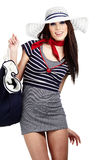 Sailor fashion style Stock Image