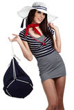 Sailor fashion style Royalty Free Stock Images