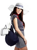 Sailor fashion style Stock Photo