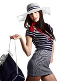 Sailor fashion style Royalty Free Stock Photography