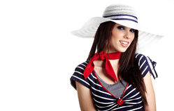 Sailor fashion style Royalty Free Stock Image
