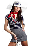 Sailor fashion style Royalty Free Stock Photo