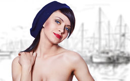 Sailor fashion style Stock Images