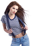 Sailor fashion style Stock Photography