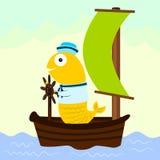 Sailor fish Royalty Free Stock Photos