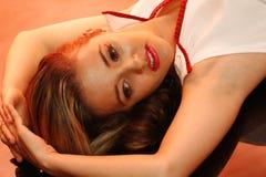Sailor on the floor stock photos