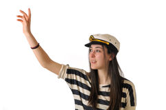 Sailor girl Royalty Free Stock Images