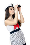 Sailor girl Stock Photos