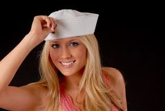 Sailor Girl Stock Photography