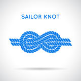 Sailor knot Stock Photo
