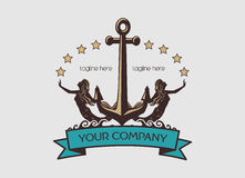 Sailor Logo Royalty Free Stock Photography