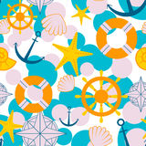 Sailor pattern Stock Photography