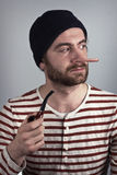 Sailor Pipe Liar Royalty Free Stock Image