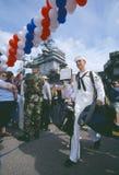 Sailor Returning Home stock image