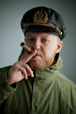 Sailor's cap and jacket Stock Photos