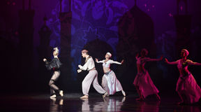 "Sailor's chase- ballet ""One Thousand and One Nights"" Stock Images"