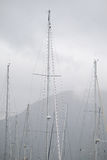 Sailor's masts Royalty Free Stock Image