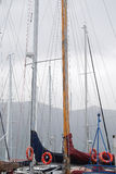 Sailor's masts Royalty Free Stock Images