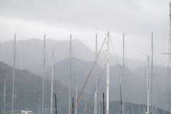 Sailor's masts Royalty Free Stock Photos