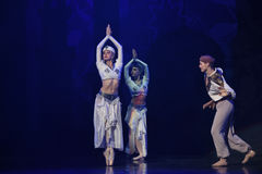 """Sailor's Treasure- ballet """"One Thousand and One Nights"""" Stock Photography"""