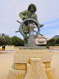 Sailor Sculputure in Porto Royalty Free Stock Images