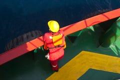 Sailor on ship Stock Photos
