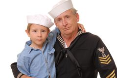 Sailor and Son 1 Stock Photography