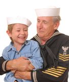 Sailor and Son 2 Royalty Free Stock Photography