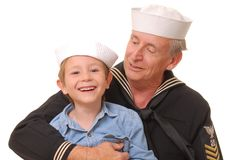 Sailor and Son 5 Royalty Free Stock Images