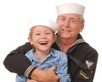 Sailor and Son 9 Royalty Free Stock Photography