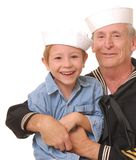 Sailor and Son 9 Royalty Free Stock Image