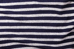 Sailor stripes background. Fabric background stripes of a sailor, horizontal photo with horizontal stripes Royalty Free Stock Images