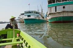 Sailor, Sunda Kelapa harbour Jakarta, Indonesia Stock Photos