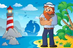 Sailor topic image 4 Royalty Free Stock Image