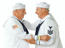 Sailor twins royalty free stock image