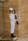 Sailor in white at the changing of the guard Royalty Free Stock Photos