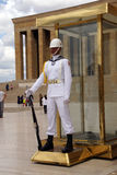 Sailor in white at the changing of the guard Royalty Free Stock Photography