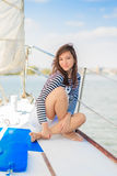 Sailor woman Royalty Free Stock Images